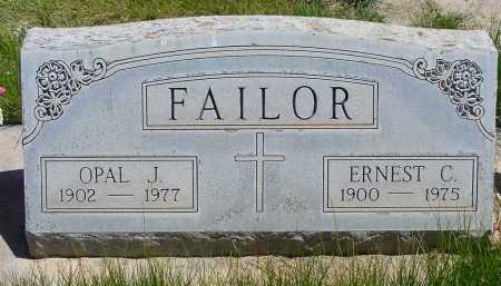 FAILOR, OPAL J. - Box Butte County, Nebraska | OPAL J. FAILOR - Nebraska Gravestone Photos
