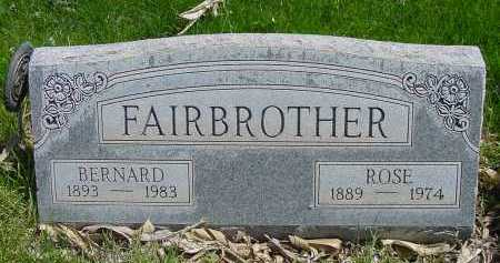 FAIRBROTHER, ROSE - Box Butte County, Nebraska | ROSE FAIRBROTHER - Nebraska Gravestone Photos