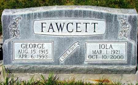 FAWCETT, GEORGE - Box Butte County, Nebraska | GEORGE FAWCETT - Nebraska Gravestone Photos