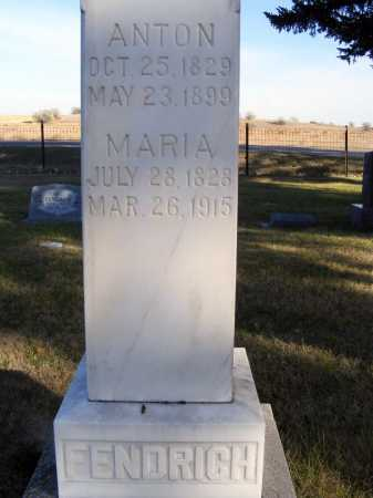 FENDRICH, MARIA - Box Butte County, Nebraska | MARIA FENDRICH - Nebraska Gravestone Photos