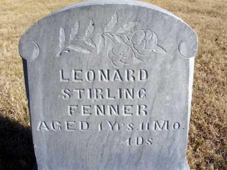 FENNER, LEONARD STIRLING - Box Butte County, Nebraska   LEONARD STIRLING FENNER - Nebraska Gravestone Photos