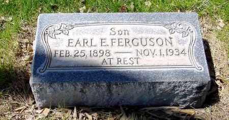 FERGUSON, EARL E. - Box Butte County, Nebraska   EARL E. FERGUSON - Nebraska Gravestone Photos