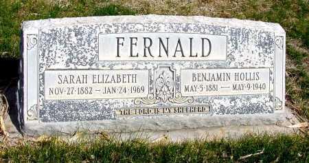 FERNALD, SARAH ELIZABETH - Box Butte County, Nebraska | SARAH ELIZABETH FERNALD - Nebraska Gravestone Photos