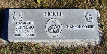 BAUER FICKEL, CONNIE JO - Box Butte County, Nebraska | CONNIE JO BAUER FICKEL - Nebraska Gravestone Photos