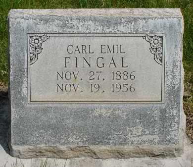 FINGAL, CARL EMIL - Box Butte County, Nebraska | CARL EMIL FINGAL - Nebraska Gravestone Photos
