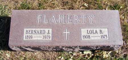 FLAHERTY, BERNARD J. - Box Butte County, Nebraska | BERNARD J. FLAHERTY - Nebraska Gravestone Photos