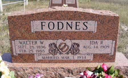 FODNES, WALTER W. - Box Butte County, Nebraska   WALTER W. FODNES - Nebraska Gravestone Photos