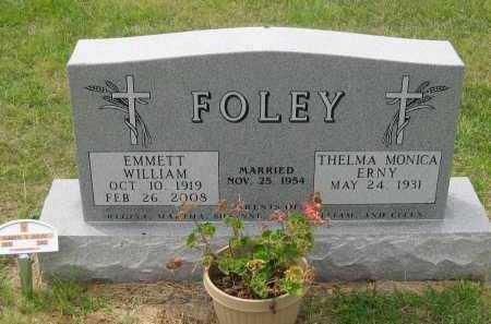 FOLEY, EMMETT  WILLIAM - Box Butte County, Nebraska | EMMETT  WILLIAM FOLEY - Nebraska Gravestone Photos