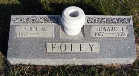 FOLEY, EDWARD J. - Box Butte County, Nebraska   EDWARD J. FOLEY - Nebraska Gravestone Photos