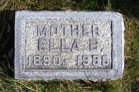 FOLEY, ELLA B. - Box Butte County, Nebraska | ELLA B. FOLEY - Nebraska Gravestone Photos