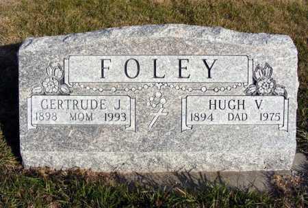 FOLEY, HUGH V. - Box Butte County, Nebraska | HUGH V. FOLEY - Nebraska Gravestone Photos