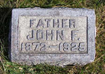 FOLEY, JOHN F. - Box Butte County, Nebraska | JOHN F. FOLEY - Nebraska Gravestone Photos
