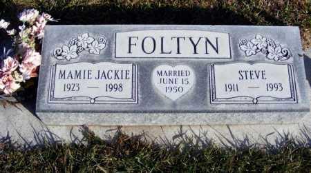 FOLTYN, STEVE - Box Butte County, Nebraska | STEVE FOLTYN - Nebraska Gravestone Photos
