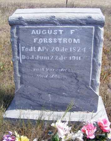 FORSSTROM, AUGUST F. - Box Butte County, Nebraska   AUGUST F. FORSSTROM - Nebraska Gravestone Photos