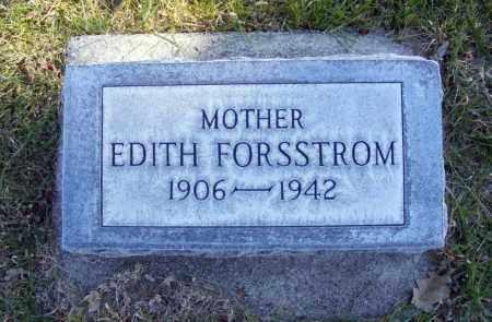 FORSSTROM, EDITH - Box Butte County, Nebraska   EDITH FORSSTROM - Nebraska Gravestone Photos