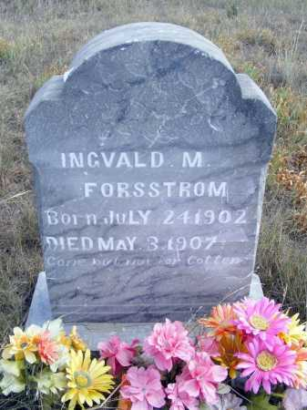 FORSSTROM, INGVALD M. - Box Butte County, Nebraska   INGVALD M. FORSSTROM - Nebraska Gravestone Photos