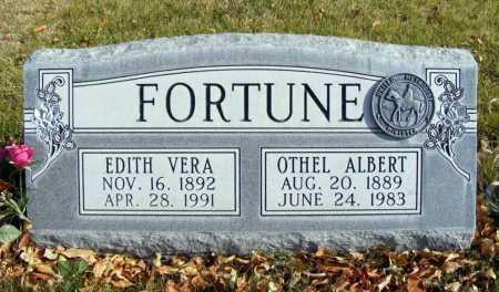 FORTUNE, OTHEL ALBERT - Box Butte County, Nebraska   OTHEL ALBERT FORTUNE - Nebraska Gravestone Photos
