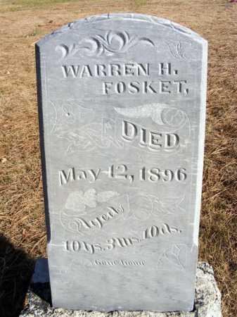 FOSKET, WARREN H. - Box Butte County, Nebraska | WARREN H. FOSKET - Nebraska Gravestone Photos