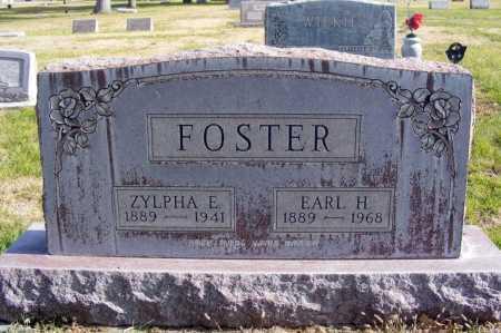 KINNER FOSTER, ZYLPHA E. - Box Butte County, Nebraska   ZYLPHA E. KINNER FOSTER - Nebraska Gravestone Photos