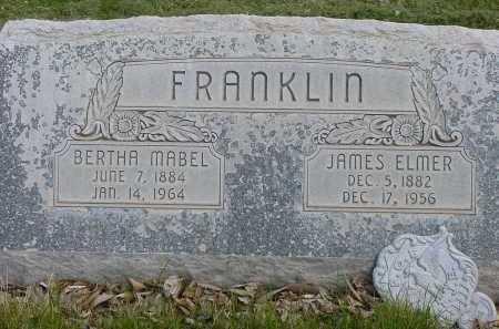 FRANKLIN, BERTHA MABEL - Box Butte County, Nebraska   BERTHA MABEL FRANKLIN - Nebraska Gravestone Photos