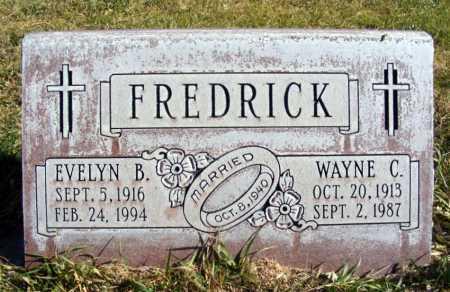 CAHA FREDRICK, EVELYN B. - Box Butte County, Nebraska | EVELYN B. CAHA FREDRICK - Nebraska Gravestone Photos
