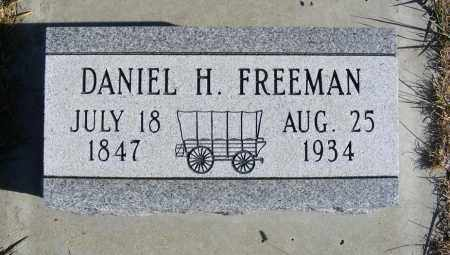 FREEMAN, DANIEL H. - Box Butte County, Nebraska | DANIEL H. FREEMAN - Nebraska Gravestone Photos