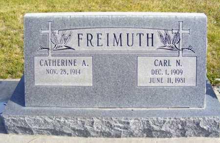 FREIMUTH, CARL N. - Box Butte County, Nebraska   CARL N. FREIMUTH - Nebraska Gravestone Photos