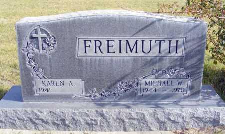 FREIMUTH, KAREN A. - Box Butte County, Nebraska | KAREN A. FREIMUTH - Nebraska Gravestone Photos