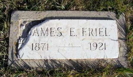 FRIEL, JAMES E. - Box Butte County, Nebraska | JAMES E. FRIEL - Nebraska Gravestone Photos
