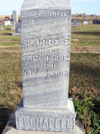 FRONAPFEL, GEORGE E. - Box Butte County, Nebraska | GEORGE E. FRONAPFEL - Nebraska Gravestone Photos