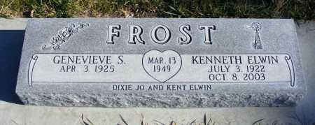 FROST, GENEVIEVE S. - Box Butte County, Nebraska   GENEVIEVE S. FROST - Nebraska Gravestone Photos