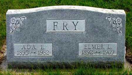 FRY, ADA E. - Box Butte County, Nebraska | ADA E. FRY - Nebraska Gravestone Photos