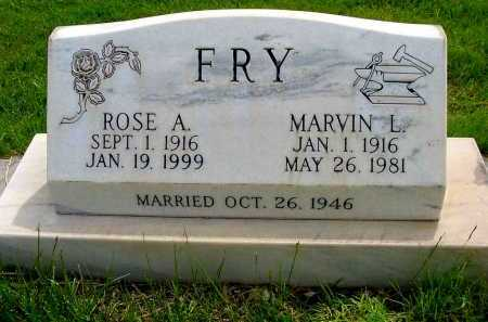 FRY, ROSE A. - Box Butte County, Nebraska | ROSE A. FRY - Nebraska Gravestone Photos