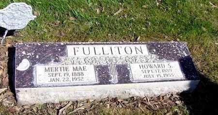 FULLITON, MERTIE MAE - Box Butte County, Nebraska | MERTIE MAE FULLITON - Nebraska Gravestone Photos