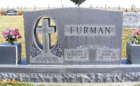FURMAN, FRANCES E. - Box Butte County, Nebraska | FRANCES E. FURMAN - Nebraska Gravestone Photos