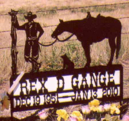 GANGE, REX - Box Butte County, Nebraska | REX GANGE - Nebraska Gravestone Photos