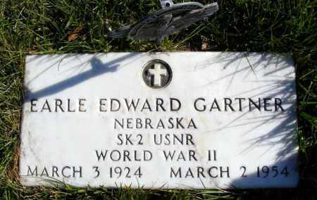 GARTNER, EARLE EDWARD - Box Butte County, Nebraska | EARLE EDWARD GARTNER - Nebraska Gravestone Photos