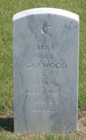 GARWOOD, MAX  RAY - Box Butte County, Nebraska | MAX  RAY GARWOOD - Nebraska Gravestone Photos