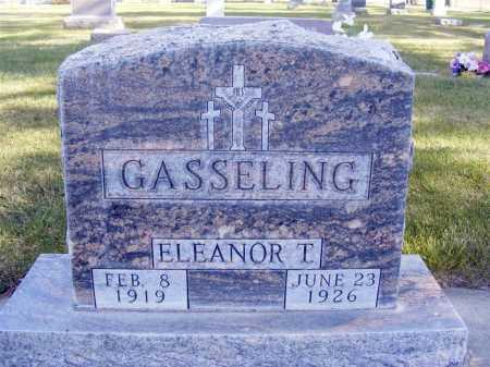 GASSELING, ELEANOR T. - Box Butte County, Nebraska | ELEANOR T. GASSELING - Nebraska Gravestone Photos