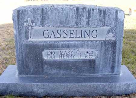 GASSELING, MARY G. - Box Butte County, Nebraska   MARY G. GASSELING - Nebraska Gravestone Photos