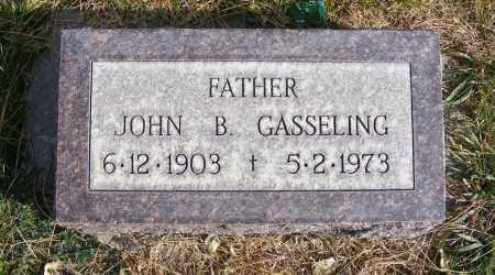 GASSELING, JOHN B. - Box Butte County, Nebraska | JOHN B. GASSELING - Nebraska Gravestone Photos