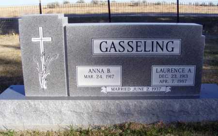 GASSELING, ANNA B. - Box Butte County, Nebraska | ANNA B. GASSELING - Nebraska Gravestone Photos