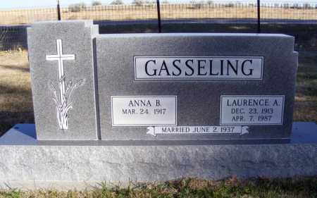 STEC GASSELING, ANNA B. - Box Butte County, Nebraska | ANNA B. STEC GASSELING - Nebraska Gravestone Photos