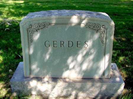 GERDES, FAMILY - Box Butte County, Nebraska   FAMILY GERDES - Nebraska Gravestone Photos