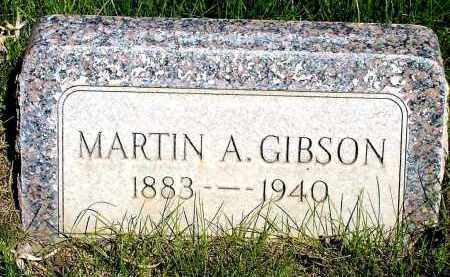GIBSON, MARTIN A. - Box Butte County, Nebraska   MARTIN A. GIBSON - Nebraska Gravestone Photos