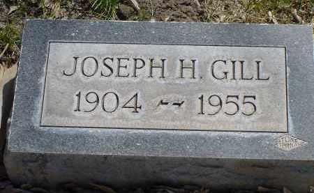GILL, JOSEPH H. - Box Butte County, Nebraska | JOSEPH H. GILL - Nebraska Gravestone Photos
