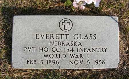 GLASS, EVERETT - Box Butte County, Nebraska | EVERETT GLASS - Nebraska Gravestone Photos