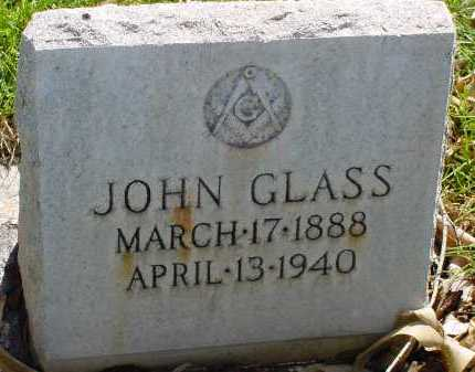 GLASS, JOHN - Box Butte County, Nebraska | JOHN GLASS - Nebraska Gravestone Photos