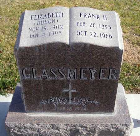 GLASSMEYER, FRANK H. - Box Butte County, Nebraska | FRANK H. GLASSMEYER - Nebraska Gravestone Photos