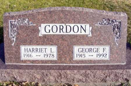 GREENE GORDON, HARRIET L. - Box Butte County, Nebraska | HARRIET L. GREENE GORDON - Nebraska Gravestone Photos